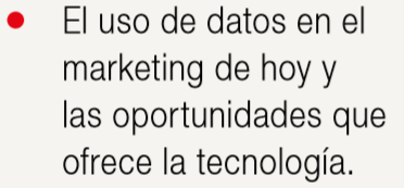 uso de datos en marketing