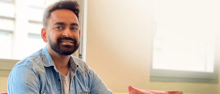 Sushaantu, Tech & UX Director de Imille