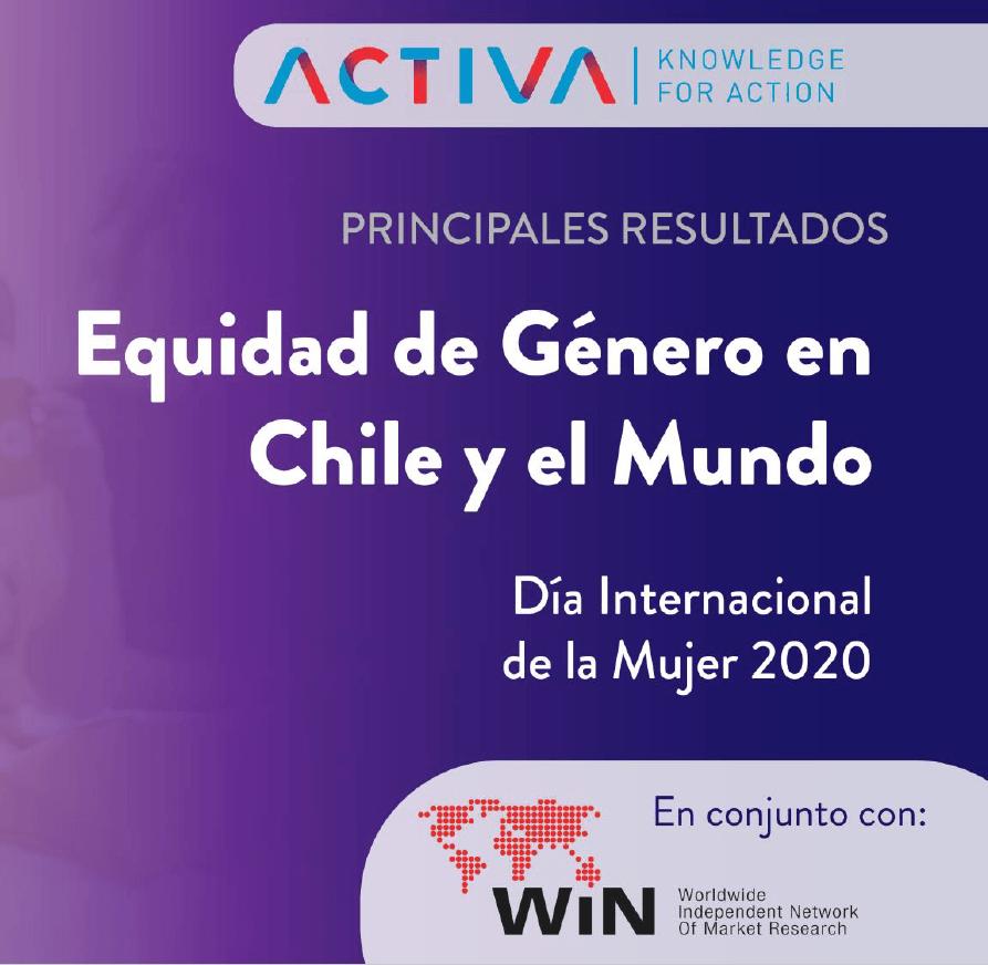 Estudio: Equidad de género en Chile y el mundo
