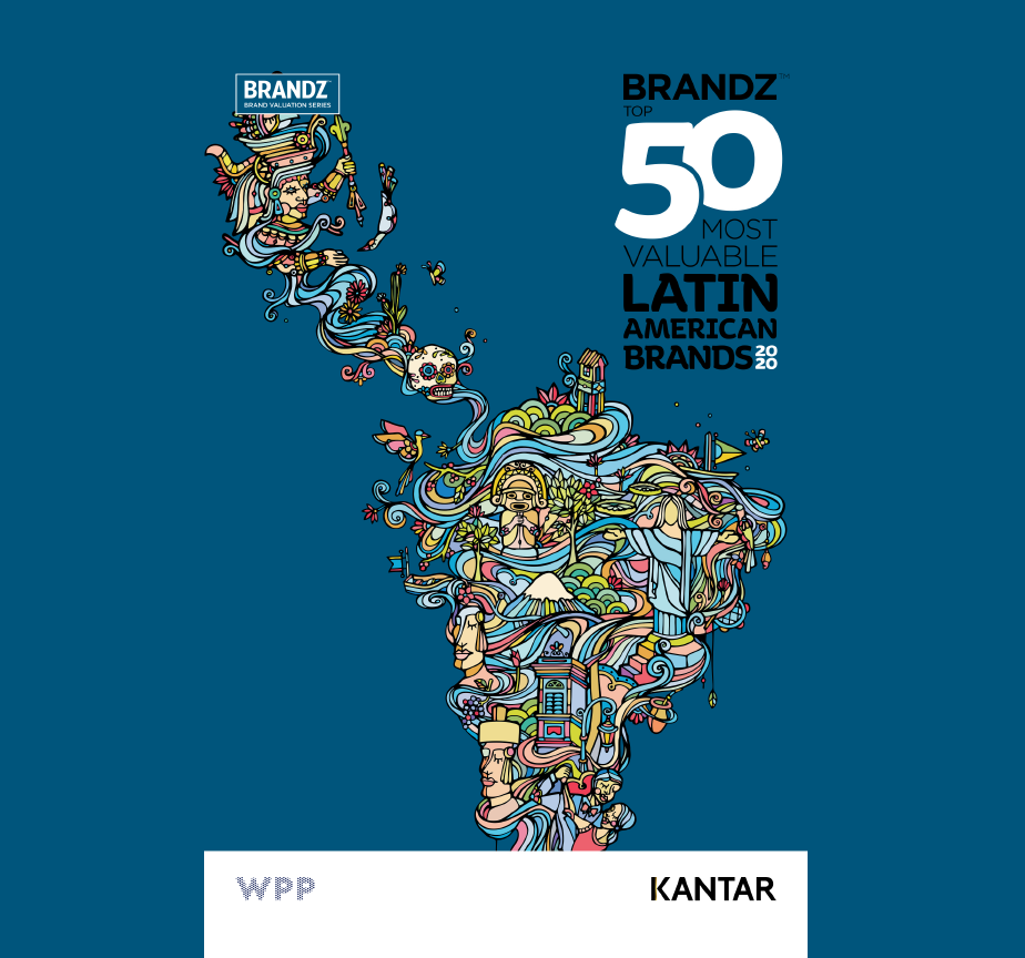 Estudio: BrandZ Top 50 most valuable Latin American Brands 2020