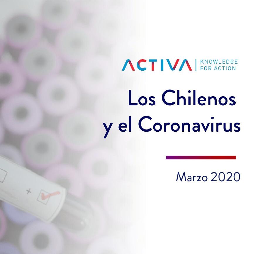 Estudio: Los Chilenos y el Coronavirus