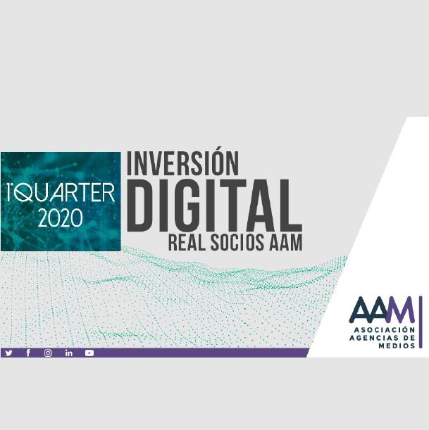 Estudio: Inversion digital real socios AAM –  1Quarter2020
