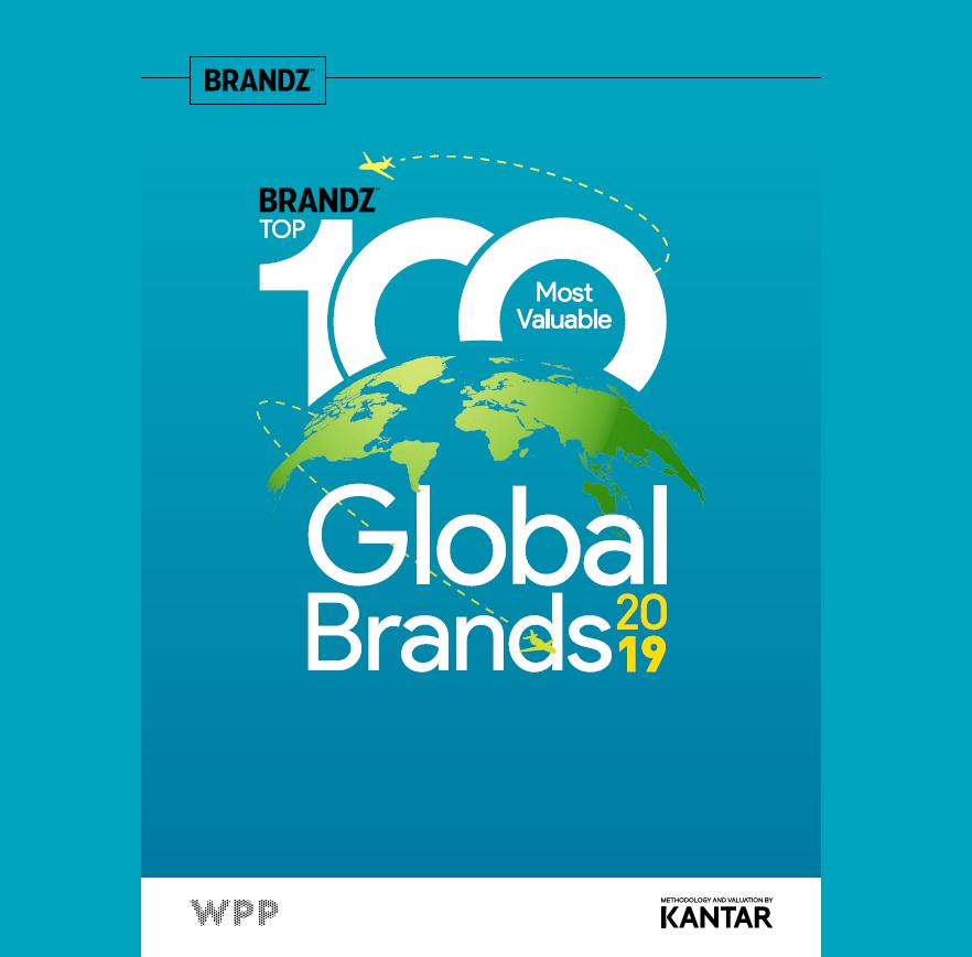 Estudio: BrandZ Top 100 Most Valuable Global Brands 2019