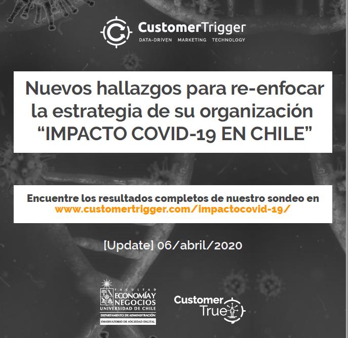 """Estudio: Nuevos hallazgos para re-enfocar la estrategia de su organización """"IMPACTO COVID-19 EN CHILE"""