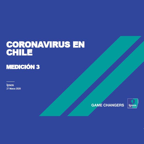 Estudio: Coronavirus en Chile  – medición 3