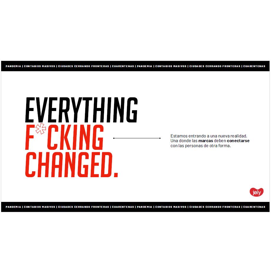 Estudio: Everything changed – CoVid-19