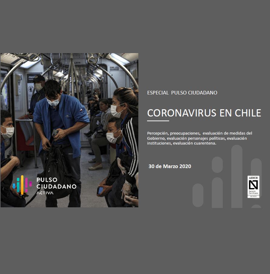 Estudio: Coronavirus en Chile, especial Pulso Ciudadano