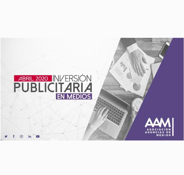 Estudio: Inversión Publicitaria en Medios – Abril 2020
