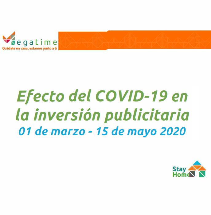 Estudio: Efecto del COVID-19 en la inversión publicitaria [01marzo -15mayo]