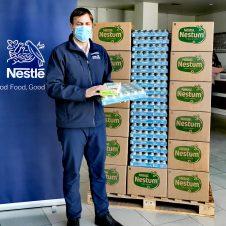 Imagen de la Nota: Nestlé entrega más de 4 toneladas de alimento para bebés