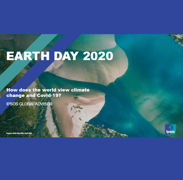 Estudio: Earth Day 2020 – How does the world view climate change and Covid-19?