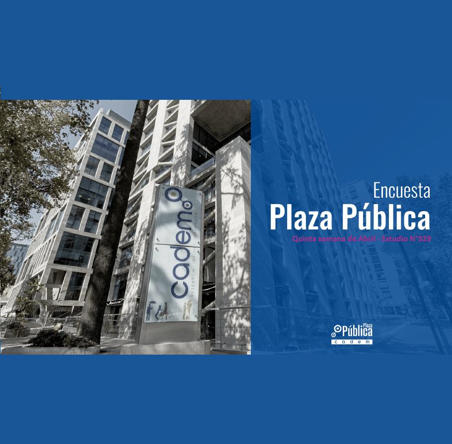 Estudio: Encuesta plaza pública – 5ta semana de abril n°329