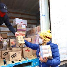 Imagen de la Nota: NESTLÉ Chile entrega más de 690 kilos de alimentos para vecinos de Maipú