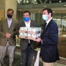 Imagen de la Nota: Nestlé Chile entrega cerca de 150.000 kilos de alimentos como aporte en medio de la pandemia