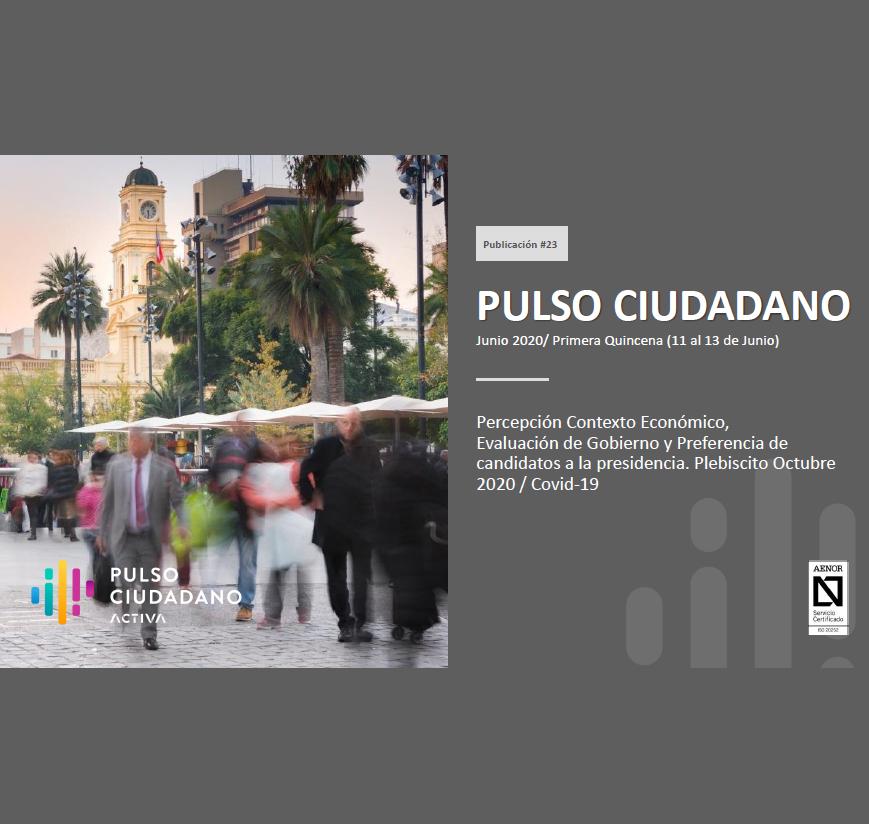 Estudio: Pulso Ciudadano – junio 2020 [11 al 13 jun]