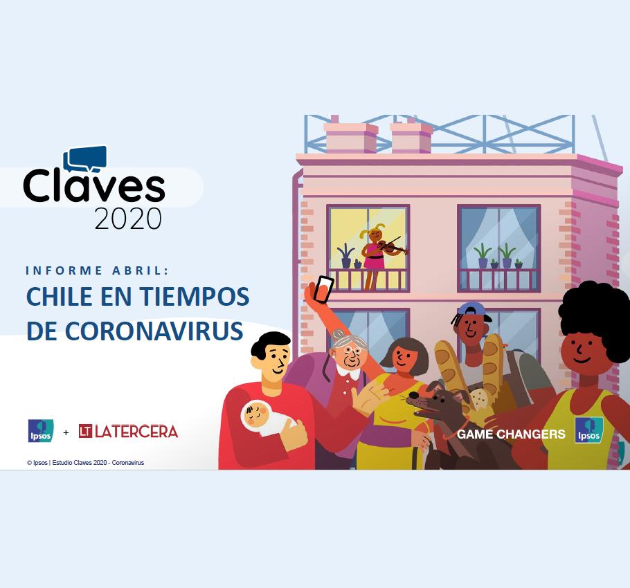 Estudio: Claves 2020 – informe abril_Chile en tiempos de Coronavirus