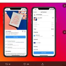 Imagen de la Nota: Facebook lanza su propio eCommerce – Facebook Shops