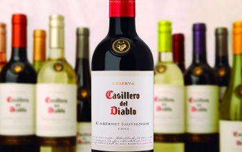 Casillero del Diablo se posiciona dentro de las TOP 10 marcas de vino  más vendidas en el mundo