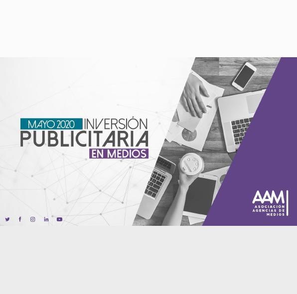 Estudio: Inversión publicitaria en medios [mayo 2020]