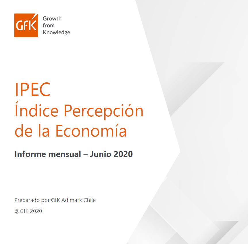 Estudio: IPEC índice de percepción de la economía [informe mensual junio 2020]