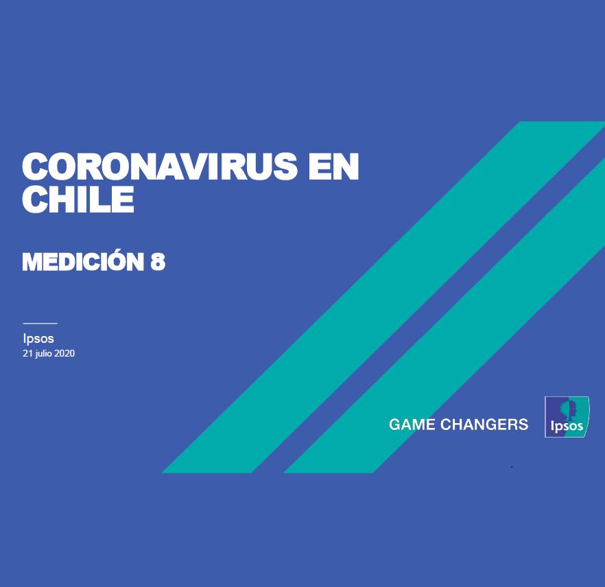 Estudio: Coronavirus en Chile – medición 8