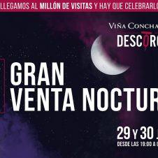 Imagen de la Nota: No te pierdas la primera venta nocturna de Descorcha.com de Viña Concha y Toro