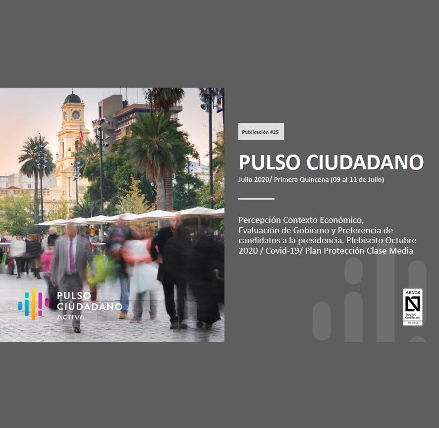 Estudio: Pulso Ciudadano – julio 2020/ primera quincena (09 al 11 junio)