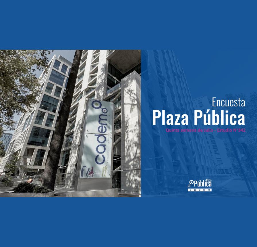 Estudio: Encuesta Plaza pública – quinta semana de julio 2020