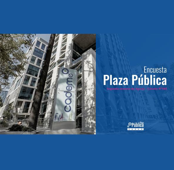Estudio: Encuesta Plaza Pública – segunda semana de agosto – estudio n° 344