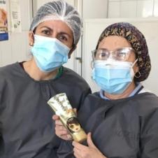 Imagen de la Nota: Donación de P&G Chile beneficia a más de 2 mil adultos mayores de Fundación Las Rosas