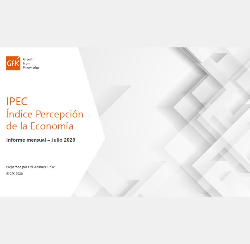 Estudio: Índice de Percepción de la Economía (IPEC) julio 2020