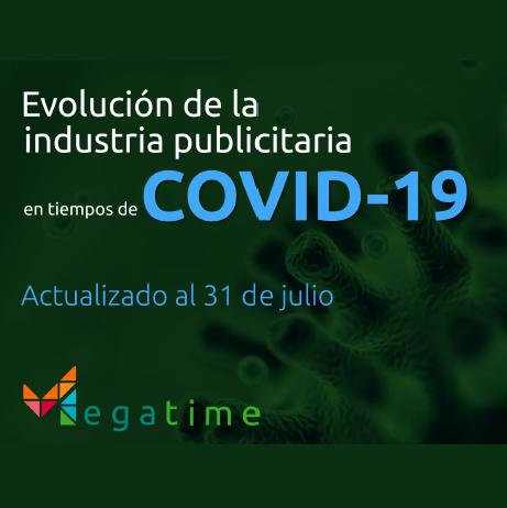 Estudio: Evolución de la industria publicitaria en tiempos de COVID-19 [al 31 de julio]