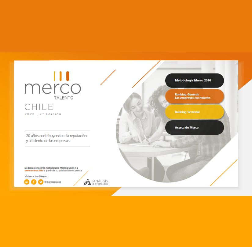 Estudio: Merco Talento Chile 2020 – 7° Edición