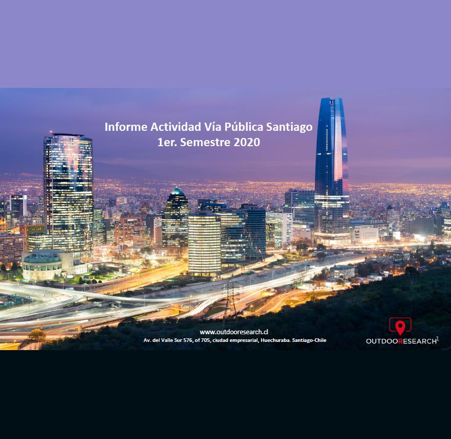 Estudio: Informe Actividad Vía Pública Santiago 1er. Semestre 2020