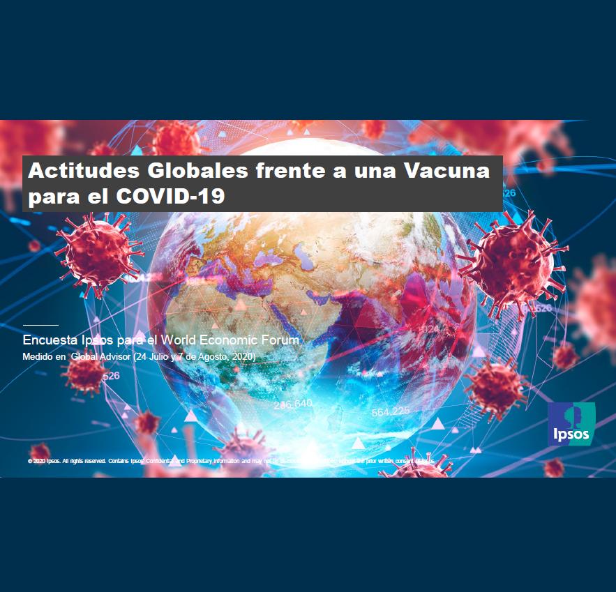 Estudio: Actitudes Globales frente a una Vacuna para el COVID-19