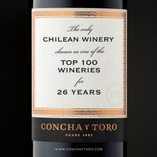Imagen de la Nota: Concha y Toro es la segunda viña con más menciones  en ranking de las 100 Mejores Viñas del Año