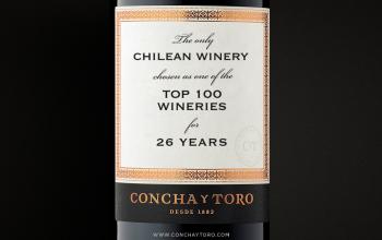 Concha y Toro es la segunda viña con más menciones  en ranking de las 100 Mejores Viñas del Año