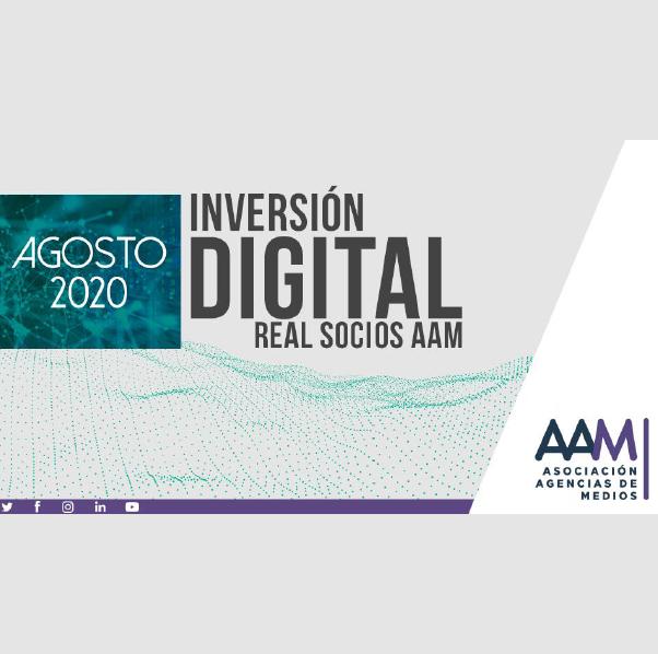 Estudio: Inversión Digital Real Socios AAM – agosto 2020