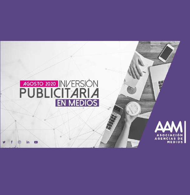Estudio: Inversión Publicitaria en Medios – agosto 2020