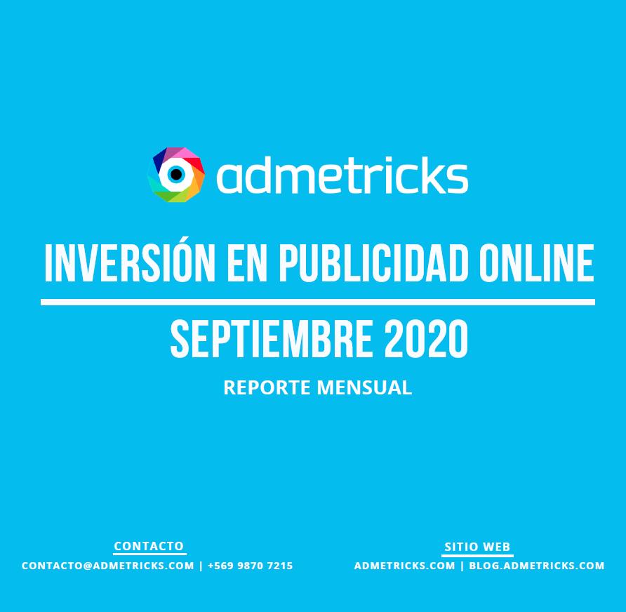 Estudio: Inversión en publicidad online – septiembre 2020