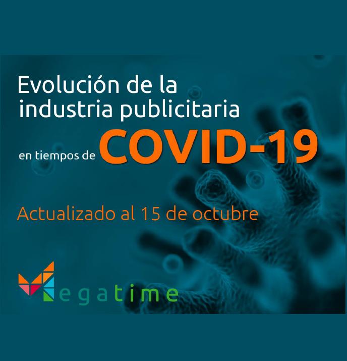 Estudio: Evolución de la industria publicitaria en tiempos de COVID-19 actualizado al 15 de octubre 2020