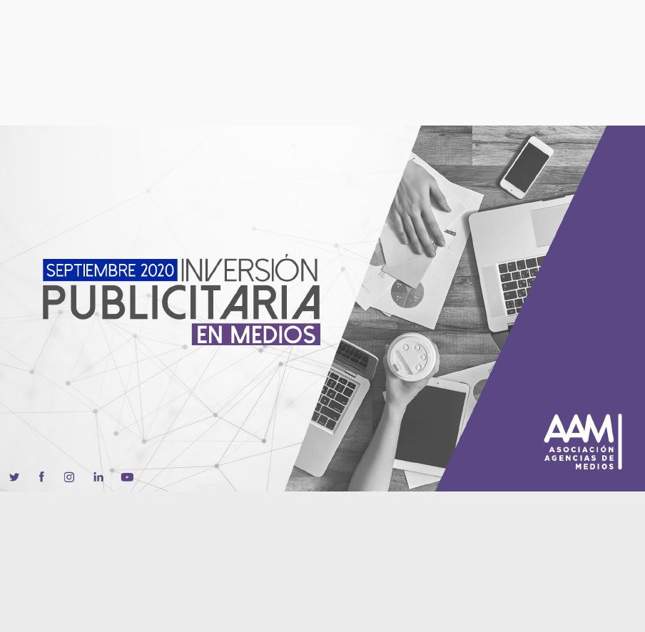 Estudio: Inversión Publicitaria en Medios – septiembre 2020