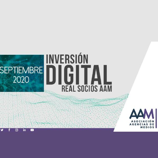 Estudio: Inversión Digital Real Socios AAM – septiembre 2020