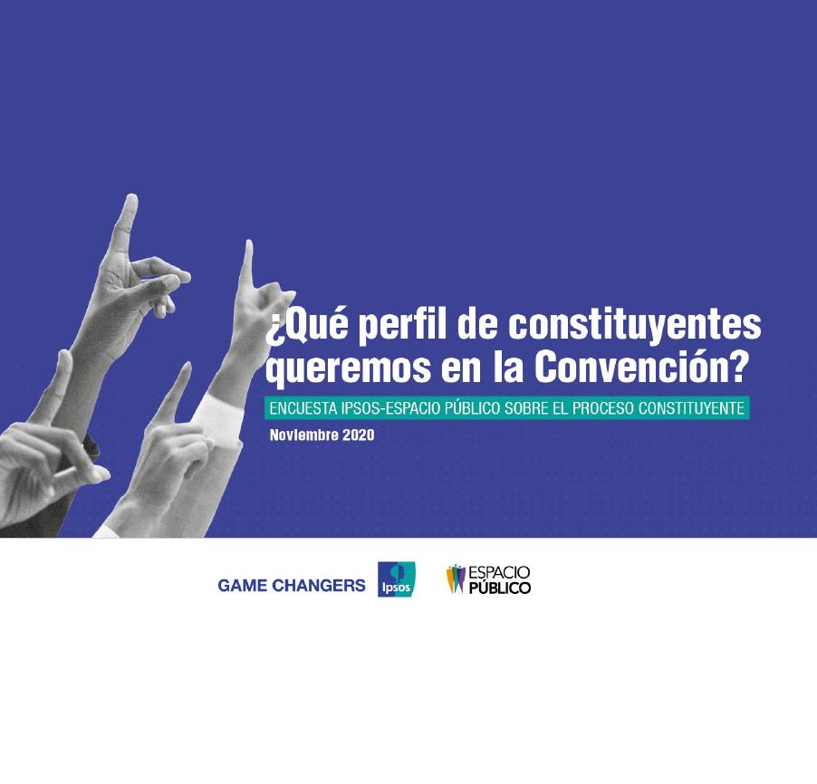 Estudio: ¿Qué perfil de constituyentes queremos en la convención? NOV 2020