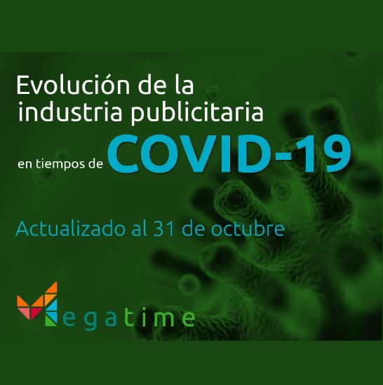 Estudio: Evolución de la industria publicitaria en tiempos de COVID-19 al 31 de octubre
