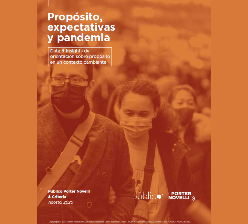 Estudio: Propósito, expectativas y pandemia – agosto 2020