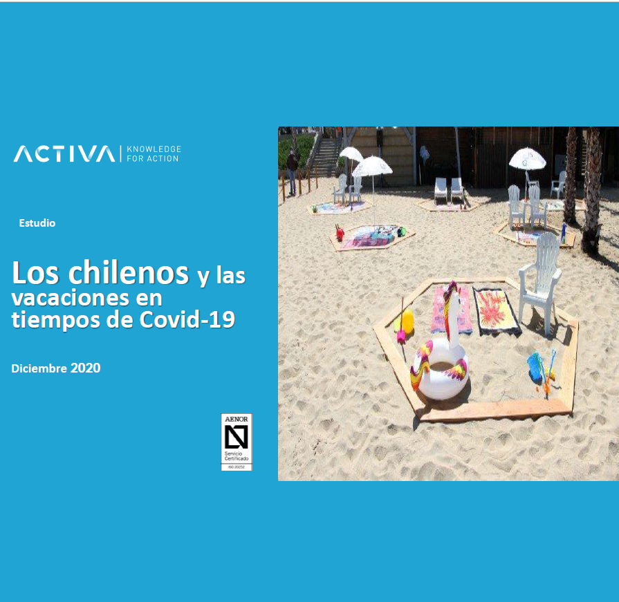 Estudio: Los chilenos y las vacaciones en tiempos de Covid 19 – diciembre 2020