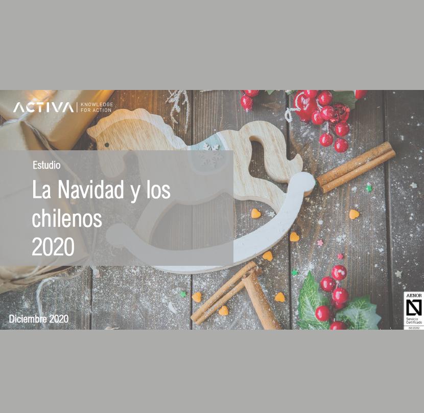 Estudio: La Navidad y los chilenos 2020