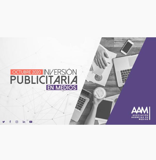 Estudio: Inversión Publicitaria en Medios – octubre 2020