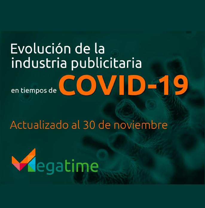 Estudio: Evolución de la industria publicitaria en tiempos de COVID- al 30 de noviembre